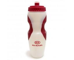 Sportsflaske PE med gummihåndtak